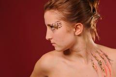 Beauty woman portrait Royalty Free Stock Image