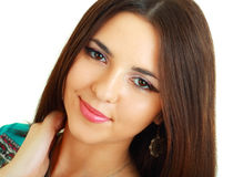 Beauty woman portrait Royalty Free Stock Photography
