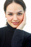 Beauty woman portrait Stock Photo