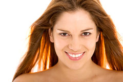 Beauty woman portrait Stock Images