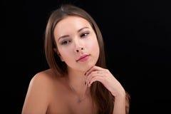 Beauty woman portrait Royalty Free Stock Photos