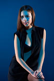 Beauty woman portrait Stock Image