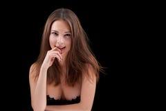 Beauty woman portrait Stock Images