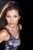 Beauty woman portrait - confident and seductive Stock Image