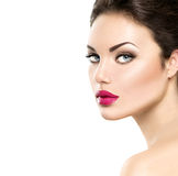 Beauty woman portrait Stock Image