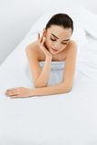 Beauty Woman Portrait. Spa Face, Clean Skin. Body Care Concept. Royalty Free Stock Image