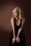 Beauty woman posing like pin-up style Royalty Free Stock Photography