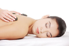 Beauty woman relaxing in spa. Stock Photography