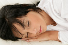 Beauty woman resting Royalty Free Stock Photos