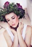 Beauty woman's portrait Royalty Free Stock Photo