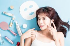 Beauty Skin care concept royalty free stock photos