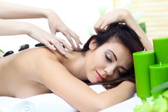 Beauty woman in spa Stock Photos