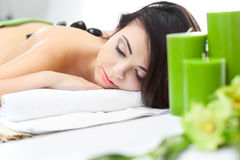 Beauty woman in spa Royalty Free Stock Photo