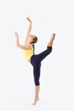 Beauty woman stand - Dancer Pose Stock Photos
