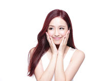 Free Beauty Woman With Charming Smile Royalty Free Stock Photos - 56449888