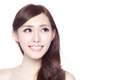 Free Beauty Woman With Charming Smile Stock Photography - 77554202