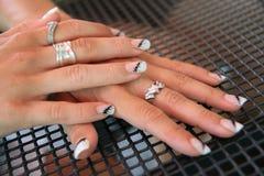 Beauty women hands Royalty Free Stock Photos
