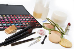 Beauty women Make Up Products  Royalty Free Stock Images