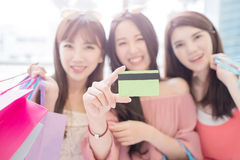Beauty women in mall Stock Photo