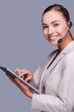 Beauty at work. Royalty Free Stock Photo