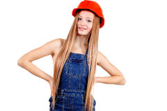 Beauty worker in working clothes Royalty Free Stock Photography