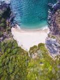 Beauty Xandrem beach aerial view landscape, Stock Photography