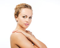 Beauty young female Stock Photo