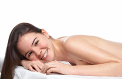 Free Beauty Young Girl Day Spa Stock Image - 12809281