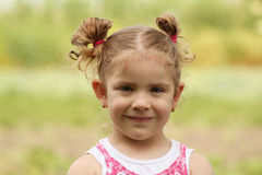 Beauty young girl portrait Stock Photo