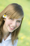 Beauty young girl portrait Royalty Free Stock Photo