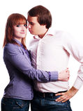 Beauty young love couple Royalty Free Stock Photos