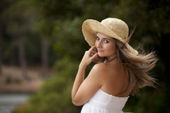 Beauty young woman Royalty Free Stock Photography