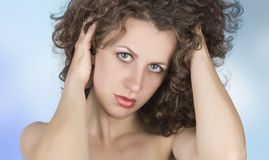 Beauty. Young beauty woman ,body care Royalty Free Stock Images