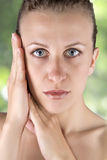Beauty. Young beauty woman ,body care Royalty Free Stock Photos