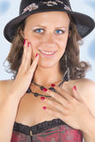 Beauty. Young beauty woman ,body care Stock Photo