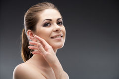 Beauty young woman portrait Stock Photography