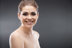 Beauty young woman portrait Stock Photo