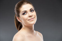 Beauty young woman portrait Stock Images