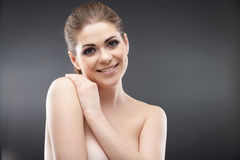 Beauty young woman portrait Stock Image