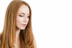 Beauty young woman portrait Royalty Free Stock Photography