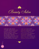 BeautyCenter_price Zdjęcie Royalty Free