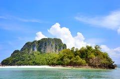 Beautyful海岛在Krabi泰国 图库摄影