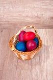 Beautyful östlig äggkorg Royaltyfria Foton