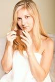 beautyful женщина спы Стоковое фото RF