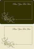 beautyful посещение вектора пар карточек бесплатная иллюстрация