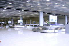Beautyful at Airport stock photo