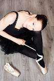 Beautyful ballerina Stock Photos