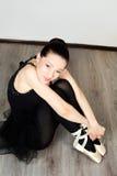 Beautyful ballerina Stock Photo