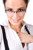 Beautyful businesswoman portrait Stock Images