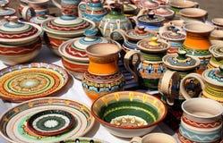 Beautyful ceramiczne pamiątki zdjęcia stock
